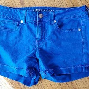 American Eagle Stretch Midi denim jean shorts